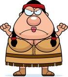 Cartoon Native American Angry Stock Photos
