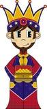 Cartoon Nativity King Royalty Free Stock Image