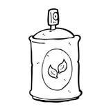 Cartoon natural spray Stock Image