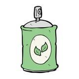 Cartoon natural spray Stock Images