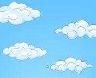 Cartoon Nature Sky Clouds Stock Photography