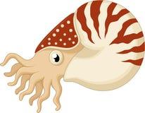 Cartoon nautilus Stock Photo