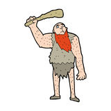 Cartoon neanderthal Royalty Free Stock Image