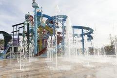 Cartoon Network Amazone Water Park. New recreation in Pattaya Stock Photography