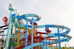 Cartoon Network Amazone Water Park. New recreation in Pattaya Stock Image