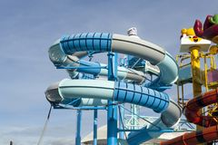Cartoon Network Amazone Water Park. New recreation in Pattaya Royalty Free Stock Images