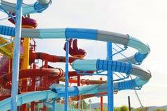 Cartoon Network Amazone Water Park. New recreation in Pattaya Stock Photo