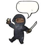 cartoon ninja Stock Images