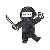 cartoon ninja Royalty Free Stock Photos