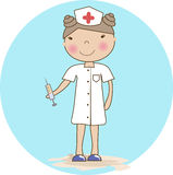 Cartoon nurse Royalty Free Stock Photography