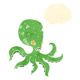 Cartoon octopus Royalty Free Stock Photography
