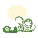 Cartoon octopus Stock Image