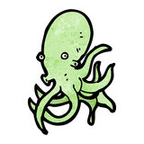 Cartoon octopus Royalty Free Stock Images