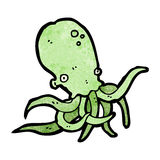 Cartoon octopus Stock Photography