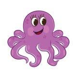 Cartoon octopus Stock Photo