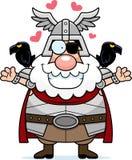 Cartoon Odin Hug Royalty Free Stock Photo