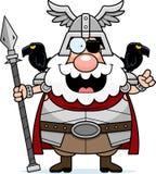 Cartoon Odin Idea Stock Photography