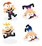 Cartoon office personnel Stock Photos