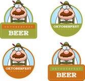 Cartoon Oktoberfest Man Graphic Stock Photo