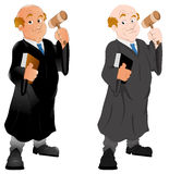 Judge - Vector Character Illustration Stock Photo