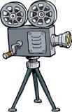 Cartoon old projector Stock Photo