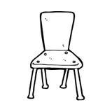 cartoon old school chair Royalty Free Stock Photos