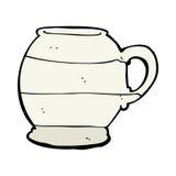cartoon old style mug Royalty Free Stock Images