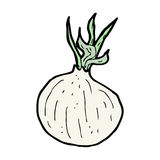 Cartoon onion Royalty Free Stock Photos