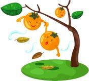 Cartoon orange Royalty Free Stock Photography