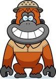 Cartoon Orangutan Safari Royalty Free Stock Photography