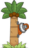 Cartoon Orangutan Tree Stock Images