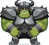 Cartoon Orc Armor Royalty Free Stock Images