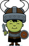 Cartoon Orc Child Sword Stock Photos