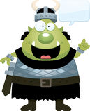Cartoon Orc Idea Royalty Free Stock Images