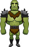 Cartoon Orc Standing Stock Photography