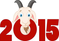 Cartoon Oriental Happy Chinese New Year 2015 Royalty Free Stock Images