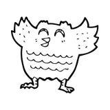 Cartoon owl Stock Photo