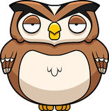 Cartoon Owl Royalty Free Stock Images