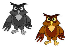Cartoon owl Royalty Free Stock Image
