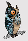 Cartoon owl Royalty Free Stock Photo
