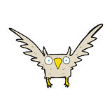 cartoon owl Stock Photos