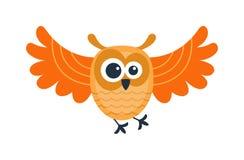 Cartoon owl vector  Royalty Free Stock Photo