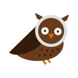 Cartoon owl vector Royalty Free Stock Image