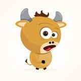 Cartoon Ox. Cartoon of a cute ox Stock Images
