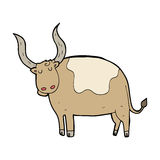 Cartoon ox Royalty Free Stock Photography