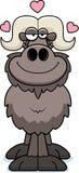 Cartoon Ox Love Stock Photos