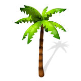 Cartoon Palm Tree Royalty Free Stock Photography