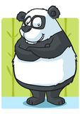 Cartoon Panda Royalty Free Stock Photography