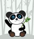 Cartoon panda Stock Images