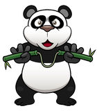 Cartoon panda Royalty Free Stock Image